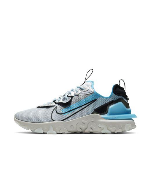 Nike Gray React Vision Prm 3mtm Shoe Grey for men