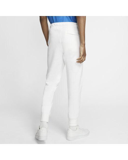 Nike Sportswear Club Fleece Jogginghose in White für Herren