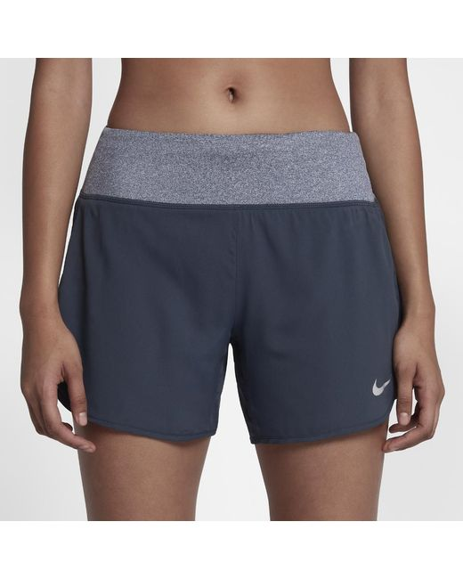 """Nike   Blue Rival Women's 5"""" Lined Running Shorts   Lyst"""