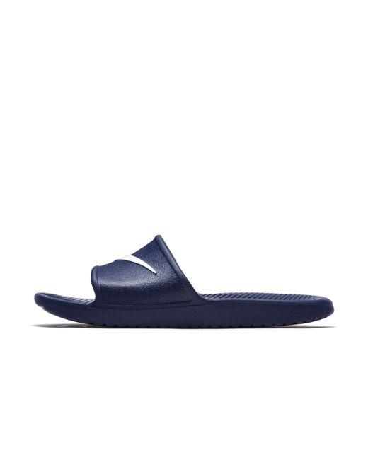 Kawa Chanclas para la ducha Nike de hombre de color Blue