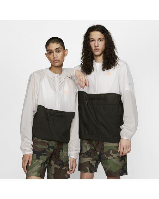 70f7e7f653 Nike - Gray Sb Skate Anorak Jacket for Men - Lyst ...