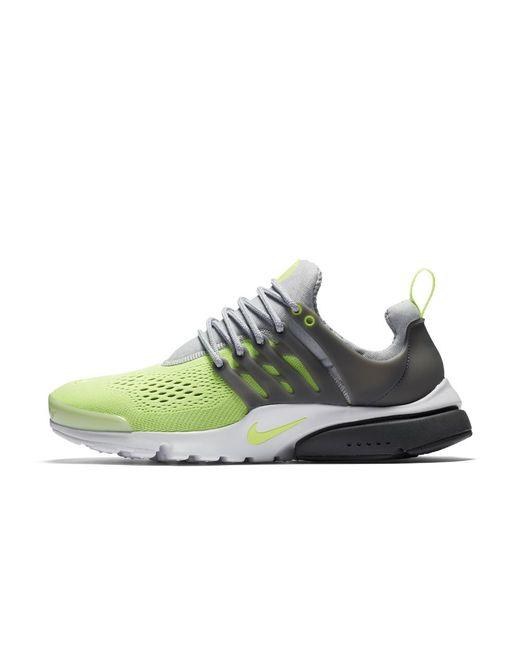 a899d8fd7406b Lyst - Nike Air Presto Ultra Breathe Men s Shoe in Gray for Men
