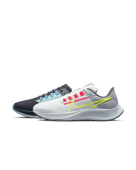 Nike Gray Air Zoom Pegasus 38 Limited Edition Running Shoe for men