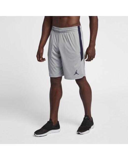 69572b4f5a4 Nike Jordan Dri-fit 23 Alpha Training Shorts in Gray for Men - Lyst