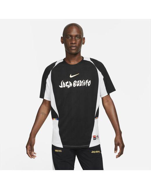 Nike Black F.c. Home Football Shirt for men