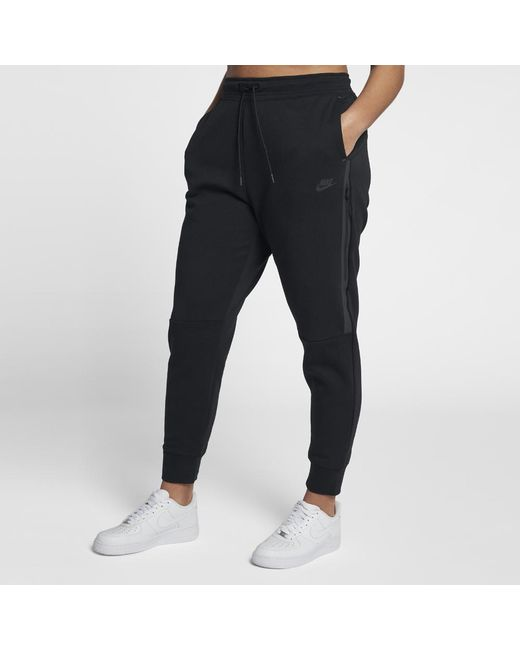 Lyst - Nike Tech Fleece Women s Pants in Black 1d03eccad