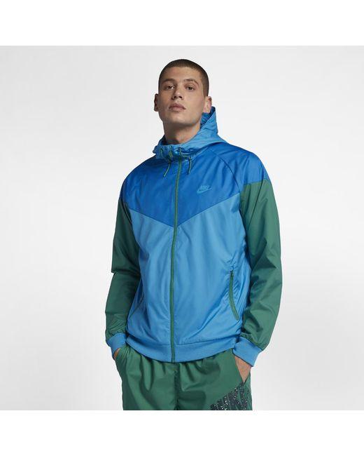 ff0f379de55b Lyst - Nike Sportswear Windrunner Men s Jacket in Blue for Men