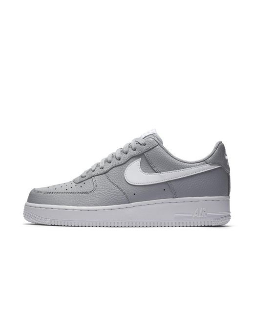 huge discount 0ae59 ccdc6 Nike - Gray Air Force 1 07 Men s Shoe for Men - Lyst