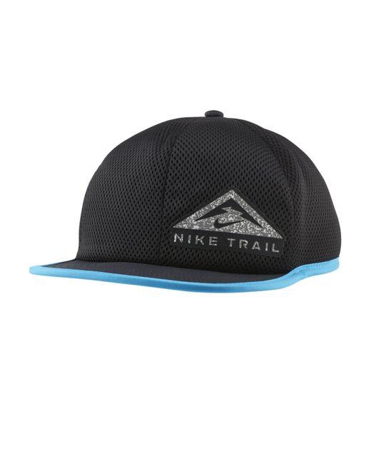 Casquette de trail Dri-FIT Pro Nike en coloris Black