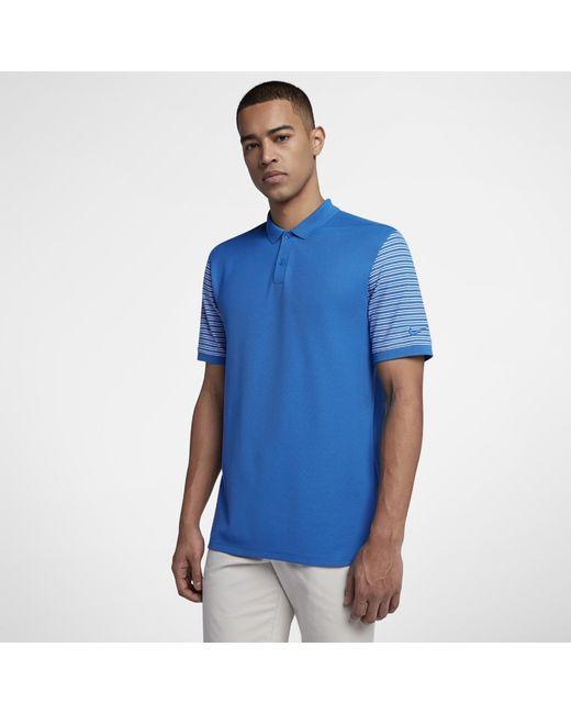 bb2d16a630 Lyst - Nike Dri-fit Men's Golf Polo Shirt in Blue for Men