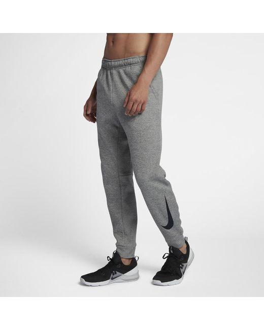 fe342b5063ba Lyst - Nike Therma Men s Swoosh Training Pants in Gray for Men
