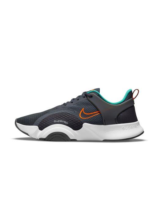 Nike Gray Superrep Go 2 Training Shoe Grey for men