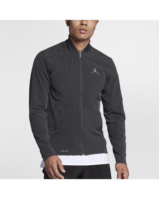 Nike - Gray Ultimate Flight Men's Basketball Jacket, By Nike for Men - Lyst