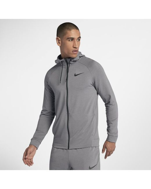 3340f34e2a94 Lyst - Nike Dri-fit Men s Training Hoodie in Gray for Men