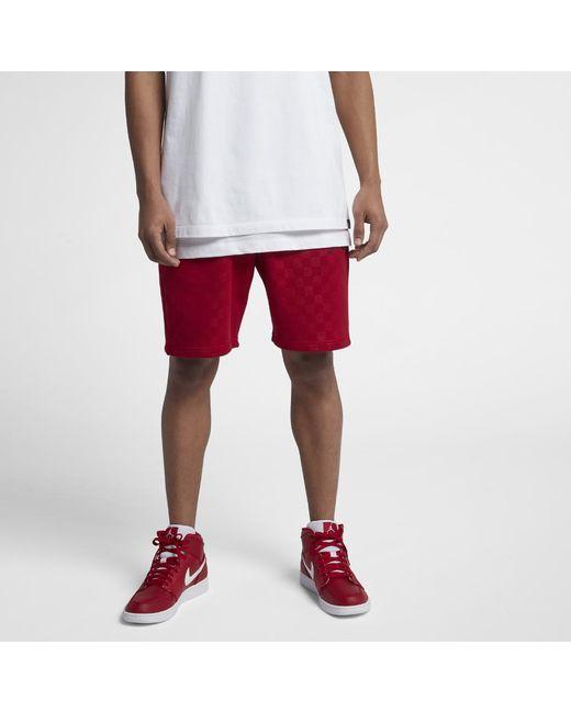 c47a7b81e550 Lyst - Nike Aj 10 Flight Men s Shorts