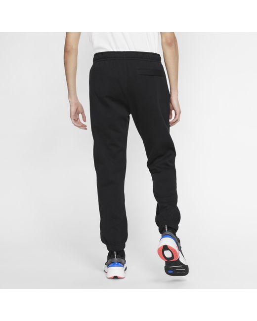 Pantaloni Sportswear Club Fleece di Nike in Black da Uomo