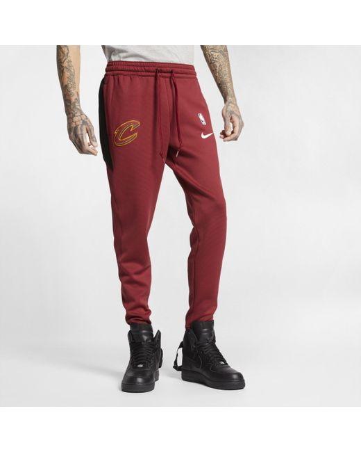 Nike Cleveland Cavaliers Therma Flex Showtime NBA hose in