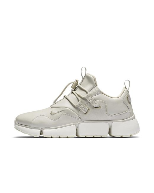 332a8f0a883 Lyst - Nike Pocket Knife Dm Leather Men s Shoe in White for Men