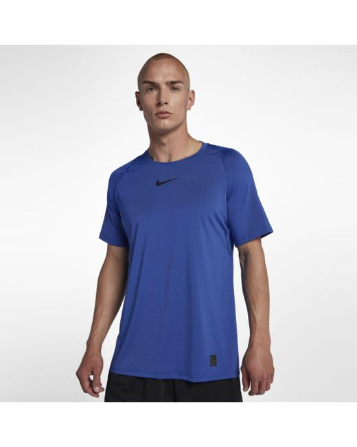 Nike Blue Pro Training Top for men