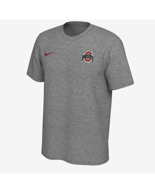 Nike Gray Legend (ohio State) Logo T-shirt for men