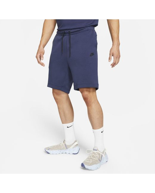 Shorts Sportswear Tech Fleece di Nike in Blue da Uomo