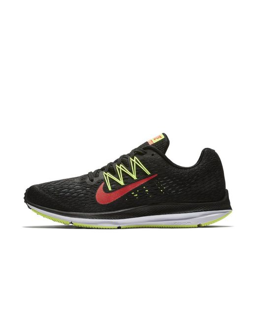 a0047dd4012 Lyst - Nike Air Zoom Winflo 5 Men s Running Shoe in Black for Men