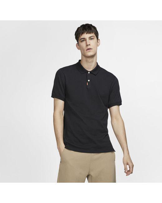 4341c0ec ... Nike - Black Polo Unisex Slim Fit Polo for Men - Lyst ...