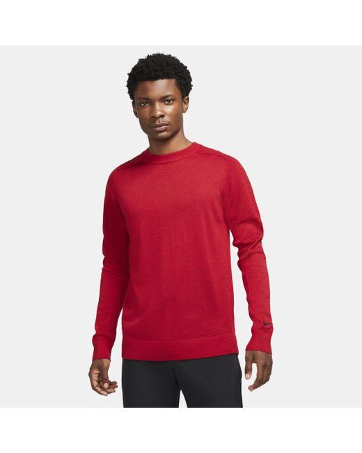 Maglia da golf in maglia Tiger Woods di Nike in Red da Uomo
