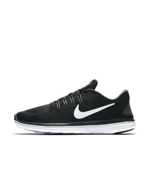 70f0b37c7aed2 Lyst - Nike Flex 2017 Rn Men s Running Shoe in Black for Men - Save 27%