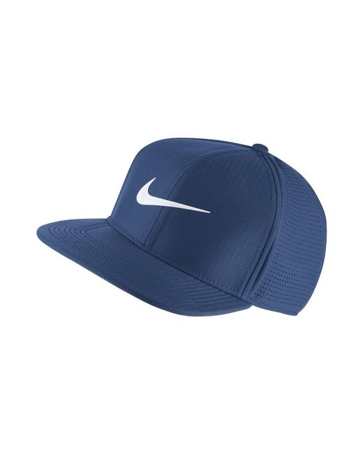 3a12c2531ad Lyst - Nike Aerobill Adjustable Golf Hat (blue) in Blue for Men