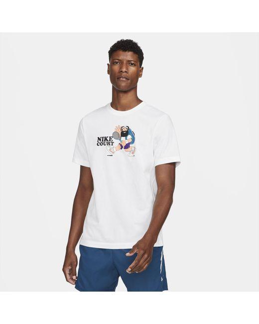 Nike Court Tennis T-shirt White for men