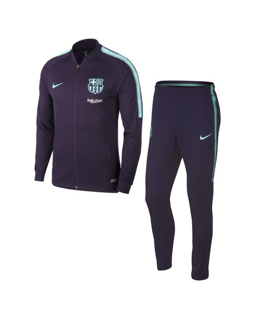 Nike - Purple FC Barcelona Dri-FIT Squad Fußball-Trainingsanzug für Herren for Men - Lyst