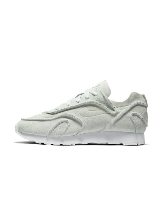 Nike White Outburst Decon Shoe