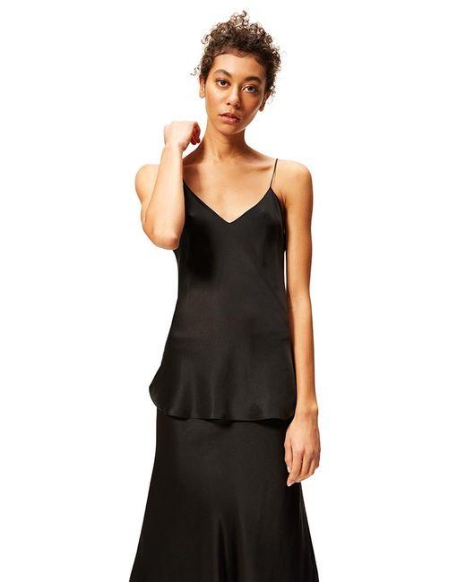 Nili Lotan - Isabella Silk Cami Top In Black - Lyst