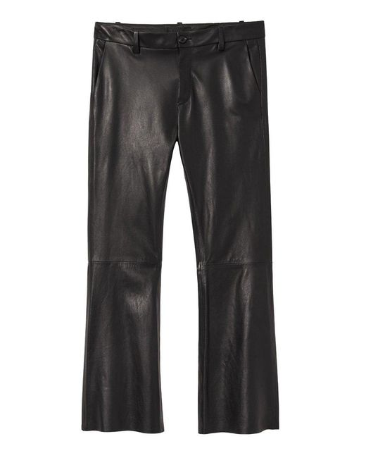 Nili Lotan Black Caden Pant