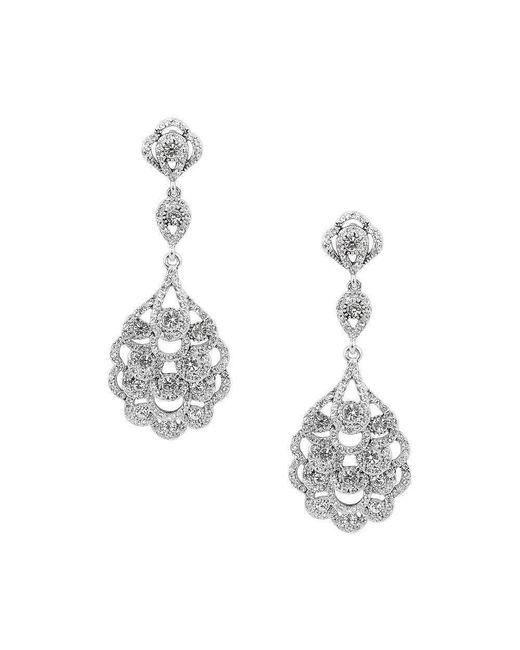 Nina - Metallic Eiffel Earrings - Lyst