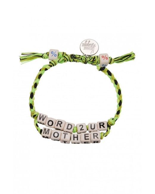 Venessa Arizaga | Green Exclusive | Word To Your Mother Bracelet | Lyst