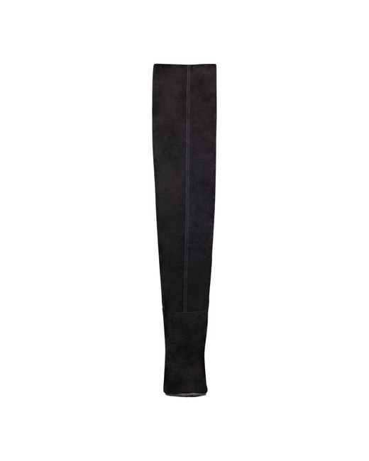 Nine West   Black Snowfall Over The Knee Boots   Lyst
