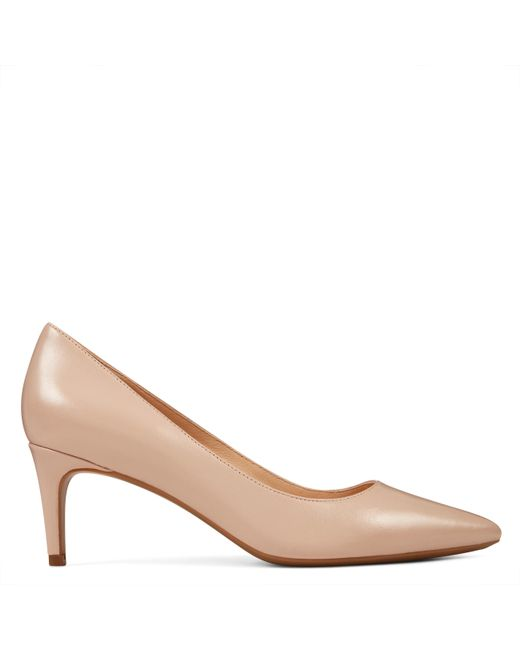 85133c1cc02 Nine West Soho Pointy Toe Pumps in Natural - Save 44% - Lyst