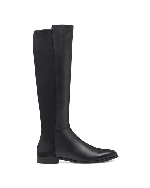 Black West Blvd Women/'s Madrid Buckle Knee-High Motorcycle Riding Boots