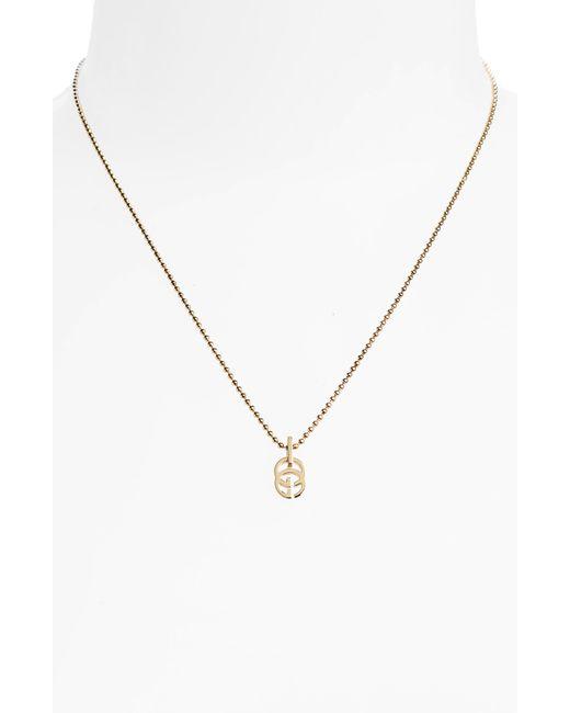 1c96d71ed3 Women's Metallic Double-g Pendant Necklace