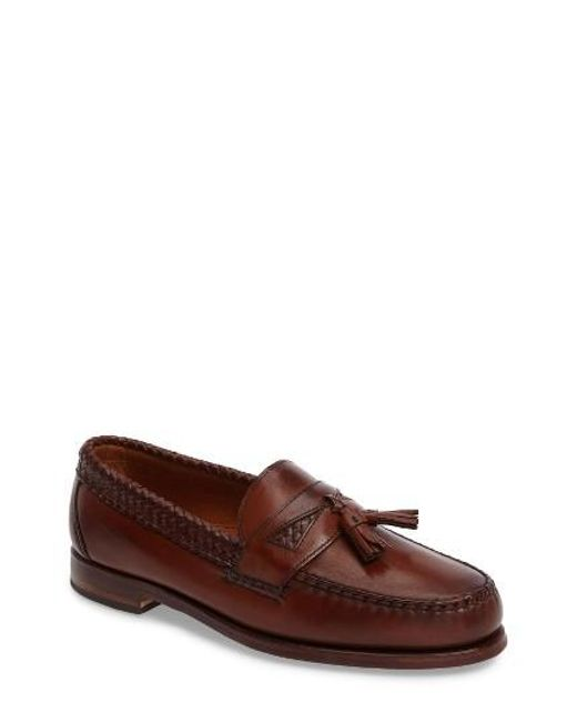 Allen Edmonds | Red 'maxfield' Loafer for Men | Lyst