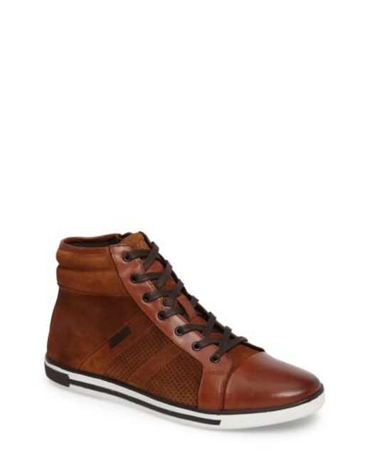 Kenneth Cole | Brown Initial Point Sneaker for Men | Lyst