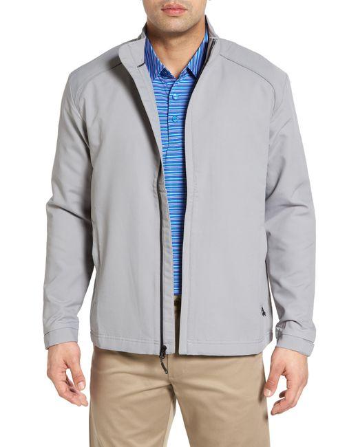 Cutter & Buck Blue 'blakely' Weathertec Wind & Water Resistant Full Zip Jacket for men
