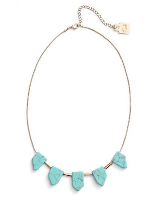 Adia Kibur | Multicolor Frontal Necklace | Lyst
