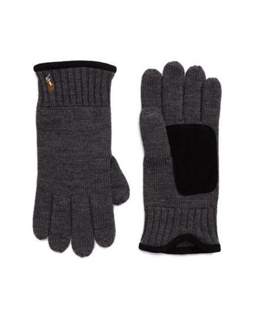 Polo Ralph Lauren | Multicolor Classic Luxe Merino Wool Gloves for Men | Lyst