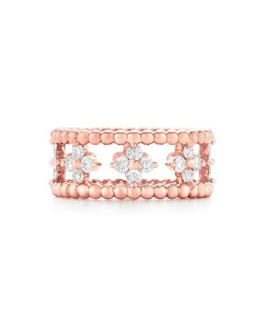 Kwiat | Pink Beaded Diamond Ring | Lyst