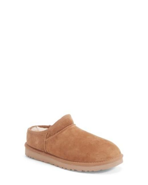 Ugg | Brown Ugg 'classic' Water Resistant Slipper (women) | Lyst