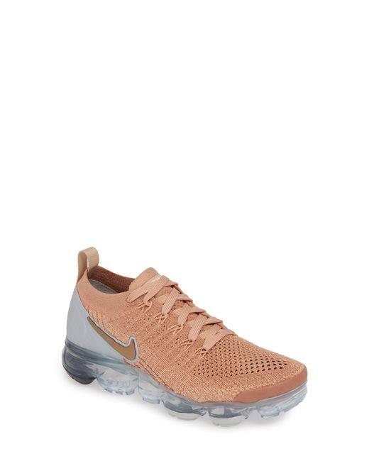 55d970bc54 Nike - Pink Air Vapormax Flyknit 2 Running Shoe - Lyst ...