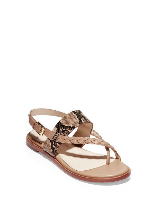 Cole Haan Brown Anica Sandal